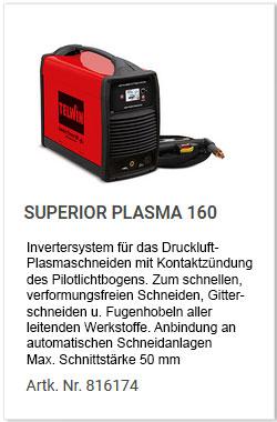 Superior Plasma 160 Telwin