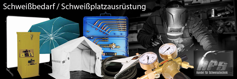 Schweißbedarf Schweißplatzausrüstung bei HFS Halle/Saale in Sachsen/Anhalt