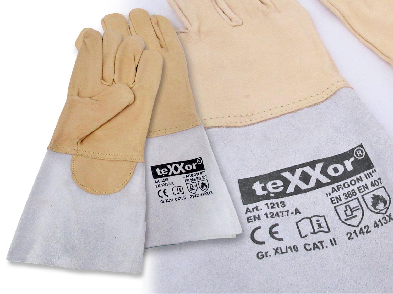 Schweißerhandschuhe Texxor III