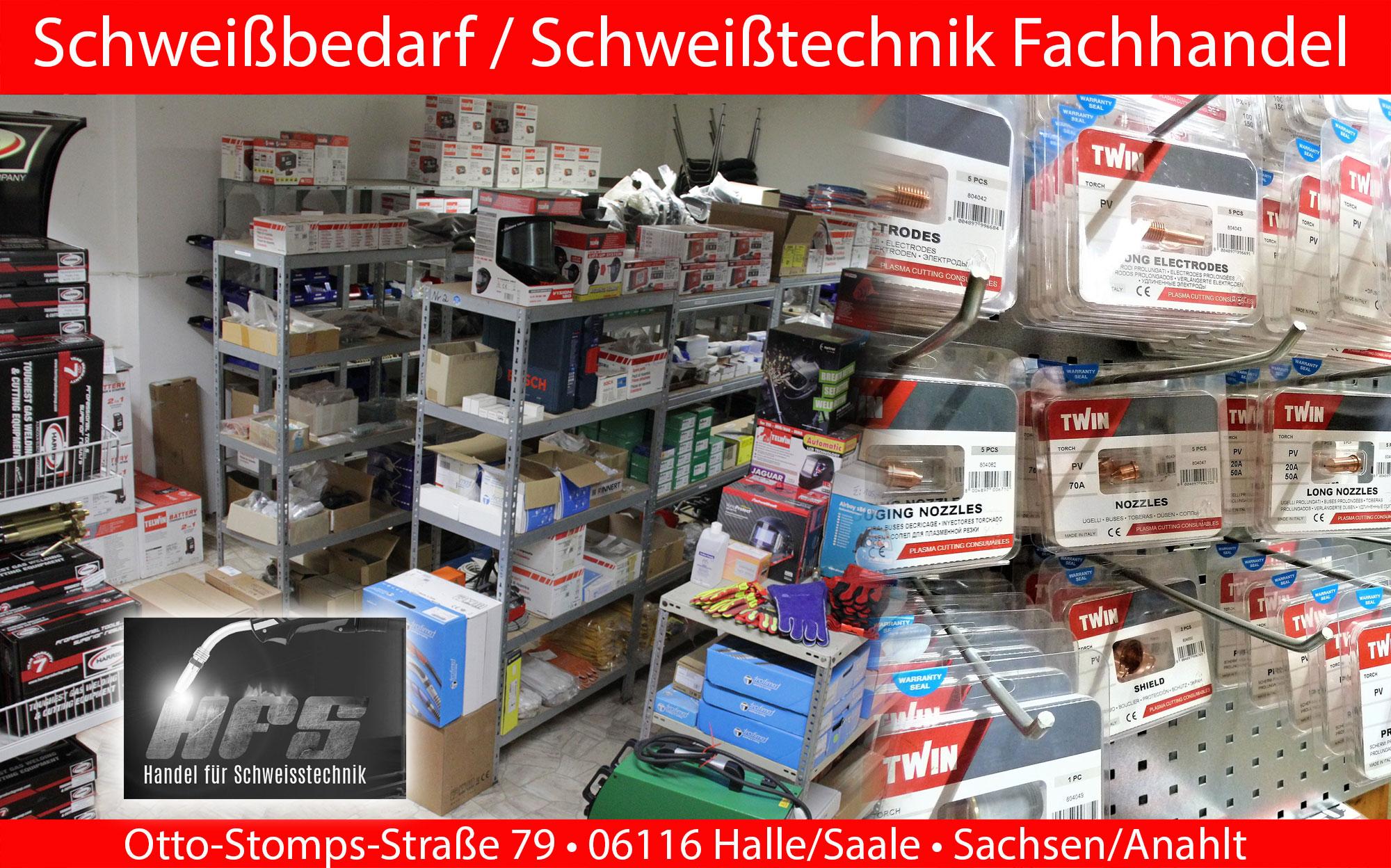 Schweißbedarf Fachhandel Halle/Saale Sachsen Anhalt
